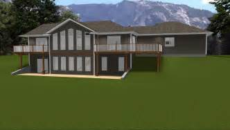ranch house plans with walkout basement walkout basements by e designs 4