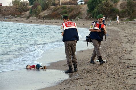 the boat was drowned drowned syrian toddler embodies heartbreak of migrant