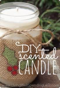 Simply Primitive Home Decor diy scented candle handmade gifts ideas scented candles