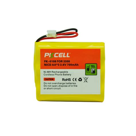 Battery Ni Cd Aa 700mah 3 6v popular 3300 battery buy cheap 3300 battery lots from