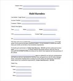 simple hold harmless agreement template hold harmless agreement 11 documents in pdf