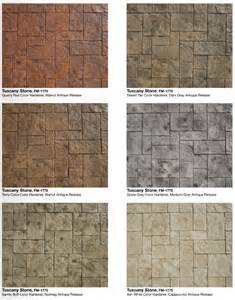 concrete color and design sted color combinations