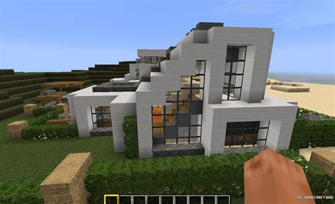 minecraft design house скачать карту hot house designs для minecraft