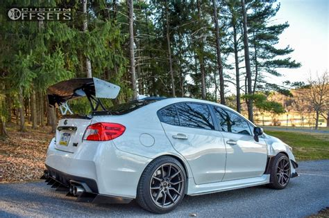 2013 subaru wrx custom wheel offset 2016 subaru wrx sti poke stock