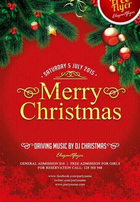 merry christmas  psd flyer template christmas flyer template  christmas flyer