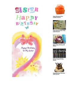 happy birthday sister wish cards pictures happy birthday