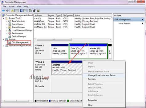 flash disk format için hazirlama cara mudah memperbaiki microsd dan flashdisk ikeni net