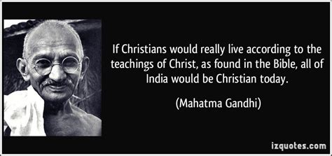 mahatma gandhi quotes about christianity quotesgram