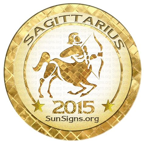 sagittarius horoscope 2015 predictions sun signs