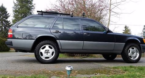 lifted mercedes lifted 1991 mercedes 300te 4matic wagon found for sale on