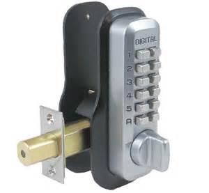 lockey m210ez keyless mechanical digital deadbolt door lock
