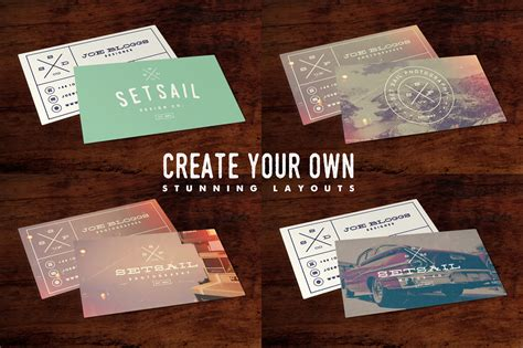 staples brand business cards template business card template by set sail studios