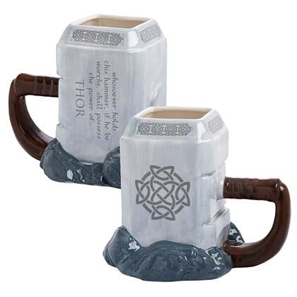 Hammer Of Thor 100 Asli Italy Kode Authentic Validasi Genuine thor mjolnir premium sculpted ceramic mug for only 163 20 27 at merchandisingplaza uk