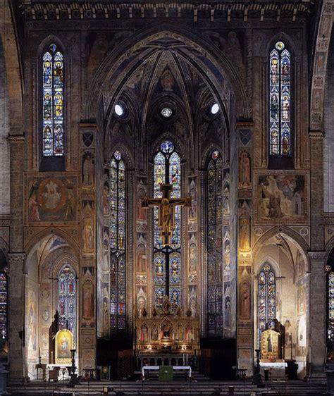 santa croce firenze interno in tuscany chiesa di santa croce firenze podere