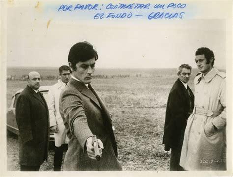 Alain Delon Circle White Original jeff los traidores jean herman director jean cau andre g brunelin