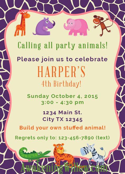 Make Birthday Invitations Wblqual