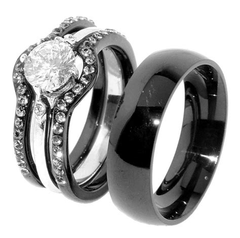 The Most Awesome wedding ring sets his and hers pertaining