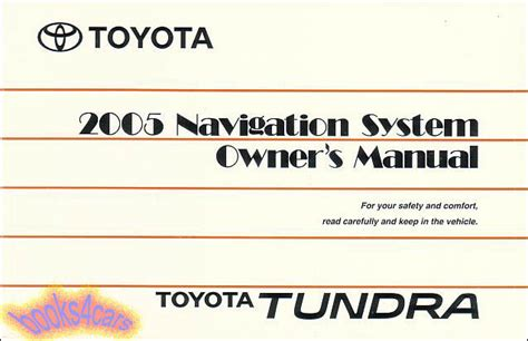 2005 toyota sienna navigation owners manual ebay toyota manuals at books4cars com