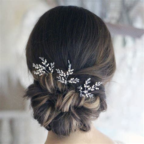 Wedding Hair Clip Accessories by Bridal Hair Accessories Diamante Fade Haircut