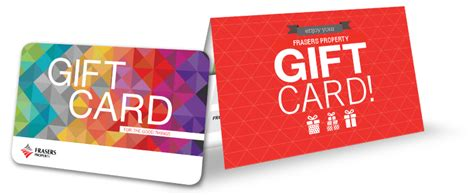 Frasers Gift Card - frasers property singapore