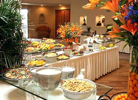 buffet table ideas buffet table setting layout pixshark com images