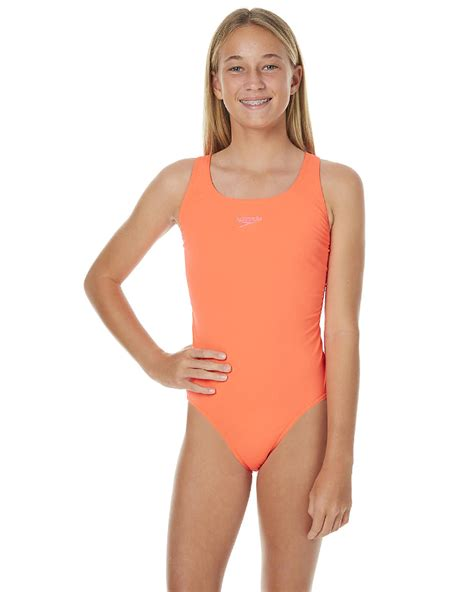 speedo one piece swimsuit kids speedo kids girls endurance leaderback one piece post it