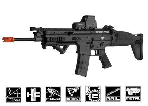 Original Gotri Peluru Bb Steel Air Soft Gun Cal 45mm Fn Herstal Scar L Mk16 Std Carbine Aeg Airsoft Gun By Vfc