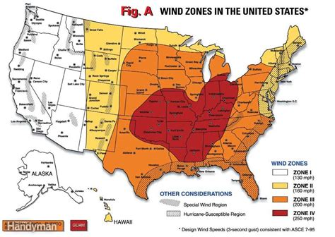 texas wind zone map how to build a shelter the family handyman