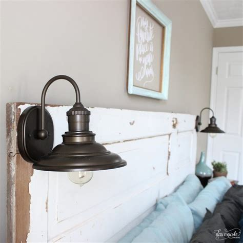 diy old door headboard diy vintage door headboard dawn nicole designs 174