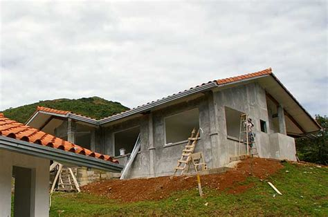 construction of a house exle image of a traditional country house under