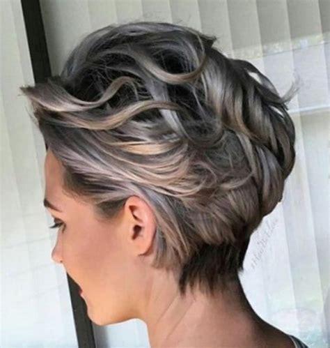 grey hair on mid length hair модные короткие стрижки 2017 фото новинок модный