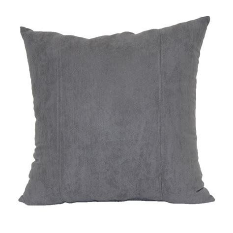Faux Pillow by 18 X 18 Quot Faux Suede Decorative Pillow Grey Home Home