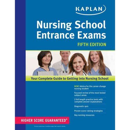 nursing school test nursing school entrance exams by kaplan walmart