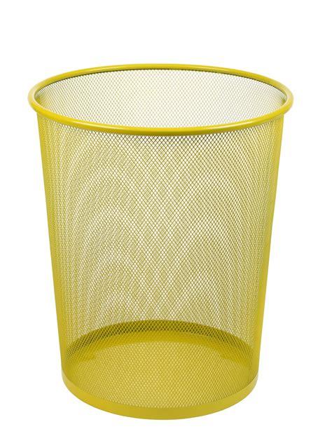 waste paper basket large colourful mesh waste paper basket office metal