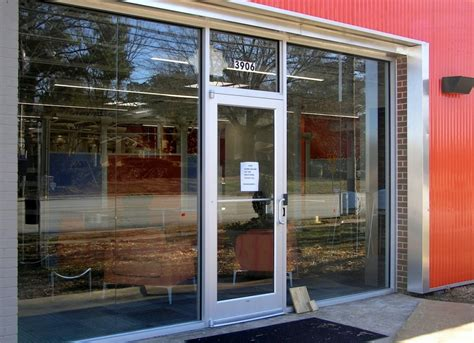 Storefront Doors by Commercial Glass Nc Storefront Glass Downtown Raleigh