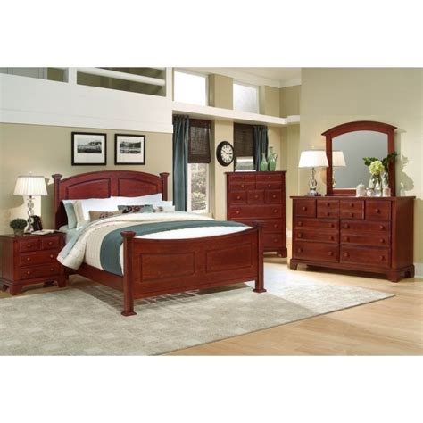Hamilton Bedroom Furniture Hamilton Franklin Bedroom Collection Cherry Cedar Hill Furniture
