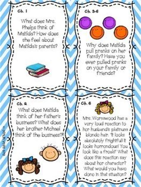 matilda book report matilda by roald dahl read aloud activities activities