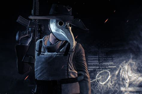 Can You Become A Doctor With A Criminal Record Payday 2 Update Can Make You An Infamous Plague Doctor Polygon