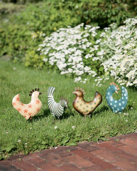 Chicken Garden by Funky Chicken Garden Accents Gardener S Supply