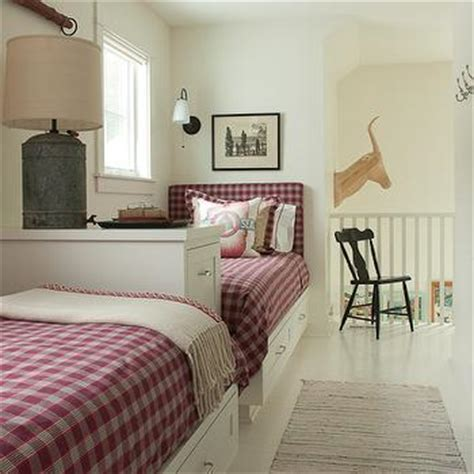 twin headboards cottage boy s room benjamin moore twin beds design decor photos pictures ideas