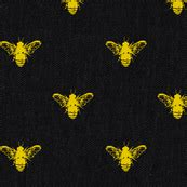 wallpaper with gold bees bees black and gold wallpaper tracy dixon spoonflower