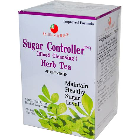 Detox For Blood Sugar by Health King Sugar Controller Blood Cleansing Herb Tea