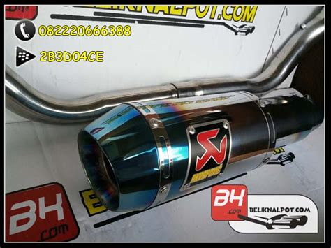 Knalpot Racing Akrapovic Half For Cb 150 R Lama knalpot racing new vixion advance akrapovic lorenzo gp