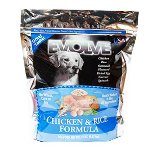 evolve dog food printable coupons evolve 4 lb chicken and rice the hungry puppy