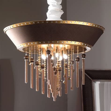 swarovski gold ceiling light