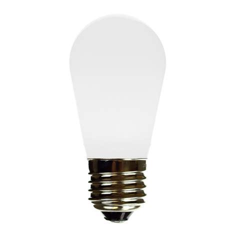 Plastic Light Bulb by S14 Led Frsoted White Plastic Light Bulb