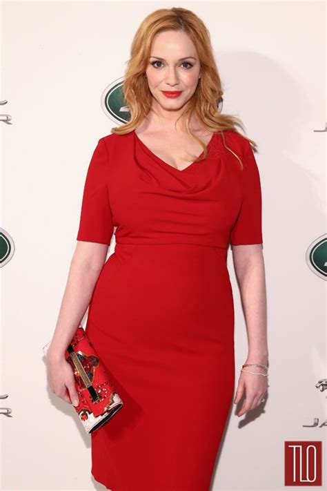 reviews on weaveologist fashion hendricks christina hendricks in black halo at jaguar land rover