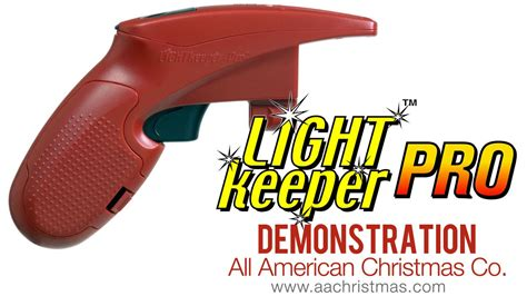 holiday light repair gun light keeper pro mini light tester demo