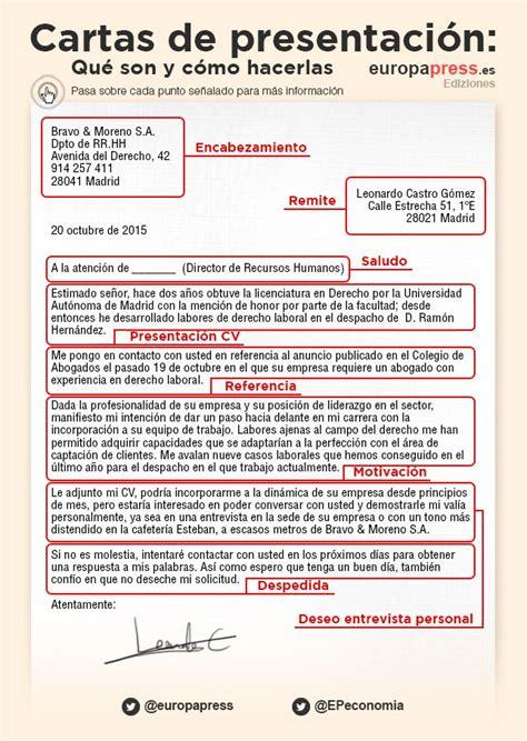 ejemplo de carta de presentacin para una empresa cartas de presentaci 243 n qu 233 son c 243 mo hacerlas y ejemplos