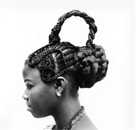 local nigerian hairstyles for women monochrome sculpted hairstyle photography artistic